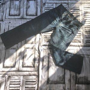 Levi Strauss & co dark denim jeans